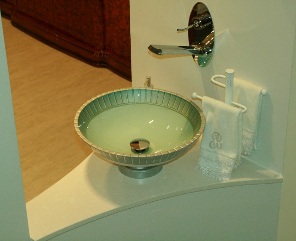 Customised &  Hand Made Glass Sink