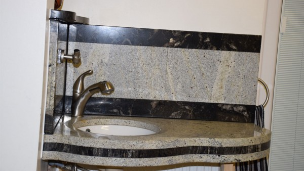 Custom Made from 2 Different Granite