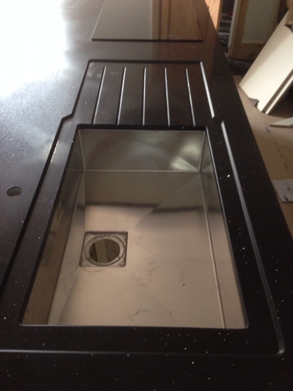 Recessed Sink Style for Kitchen Sink