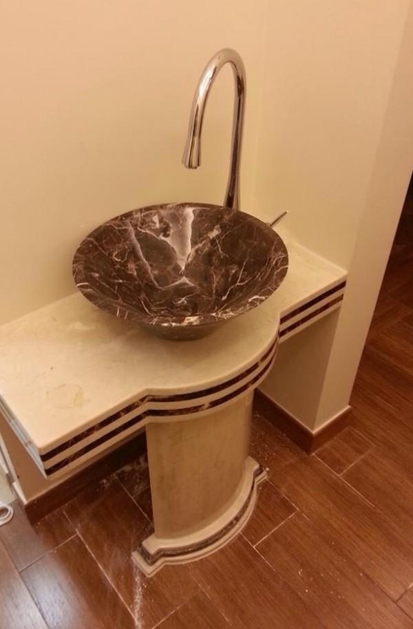 Emprado Marble Sink – marble worktop